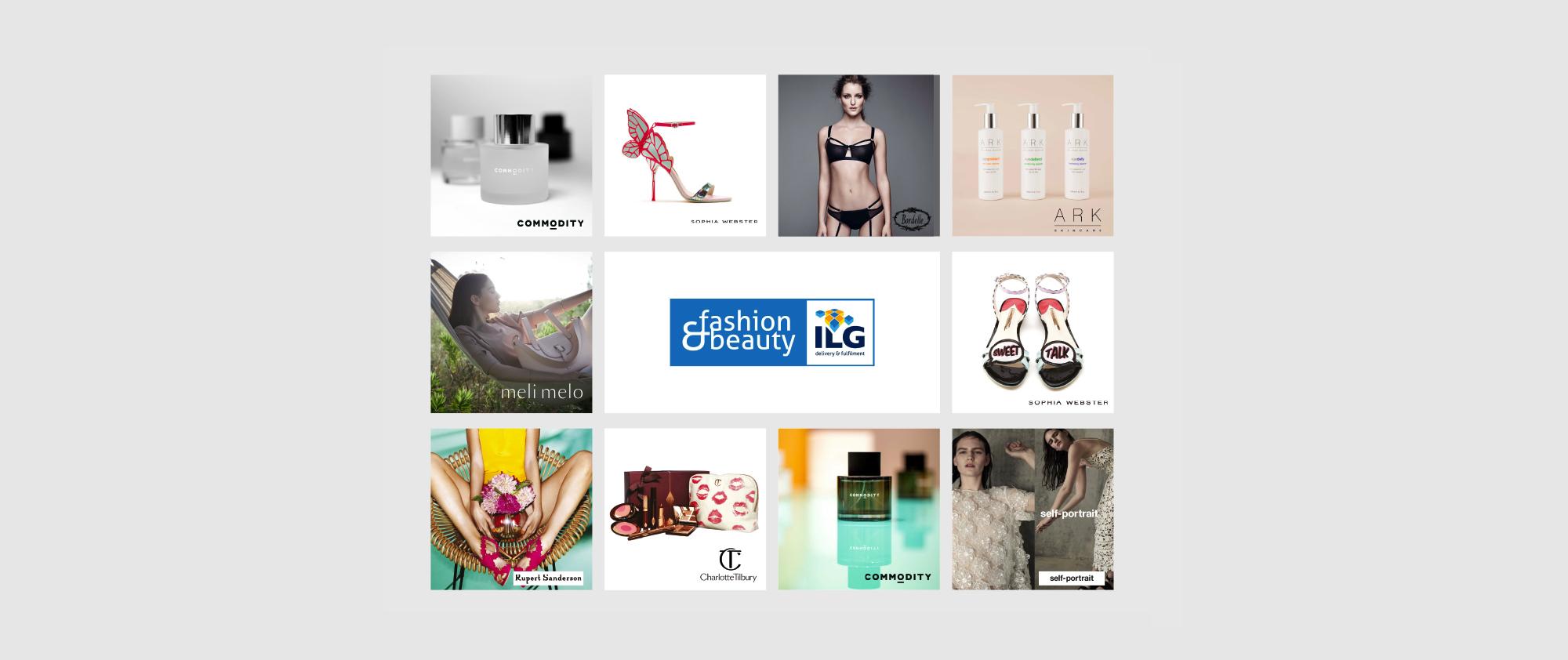 ILG fashion beauty wall graphics